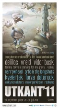Plakat til Utkantfestivalen