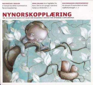 Illustrasjon til Nynorskmagasinet