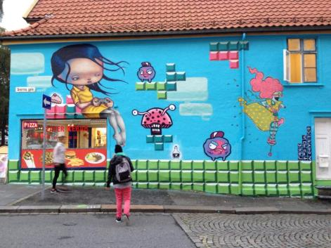 Veggmaleri i Sverresgate, Bergen